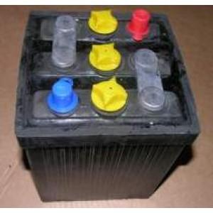 Batterie 6 volts à l'ancienne,sèche 56AH à  montage possible sur d'autres anciennes que la 2cv. Conditions de garantie à lire*