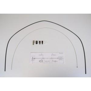 Cable d'accélerateur jusque Juillet 83 R4 et R5