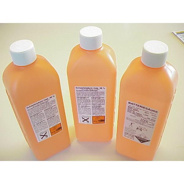 vente de pi ces d tach es 4l 3 litres d 39 acide sulfurique dilu 36 pour batterie ami de la 4l. Black Bedroom Furniture Sets. Home Design Ideas