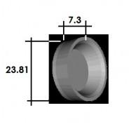"""Coupelle Cylindre de Roue 15-16"""" AV R4"""