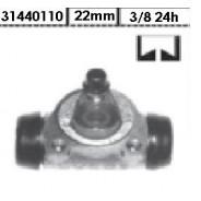Cylindre de roue arrière R5 22mm