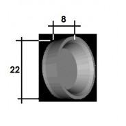 Coupelle cylindre arrière R4