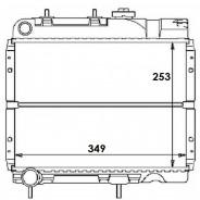 Radiateur R4 >86 (7701 754 626)