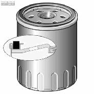 Filtre à huile LS169B R4