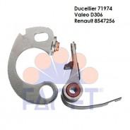 Vis Platinées R4/5 850cc/Estafette /Dauphine Duc 71974
